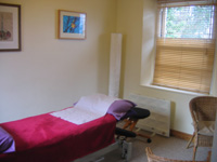Treatment Room second Richard Metcalf Osteopathy in Sheffield Walkley